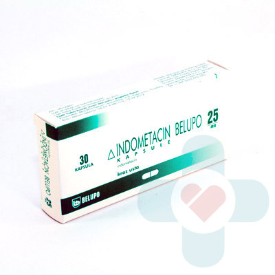 This medicine contains the active ingredient indometacin which is also called a non-steroidal anti-inflammatory drug (NSAID), or just 'anti-inflammatory'.