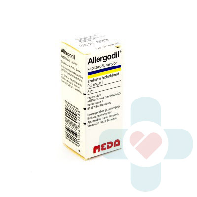 This medicine contains of the active ingredient azelastine hydrochloride, which belongs to a group of medicines called antiallergics (antihistamines). The