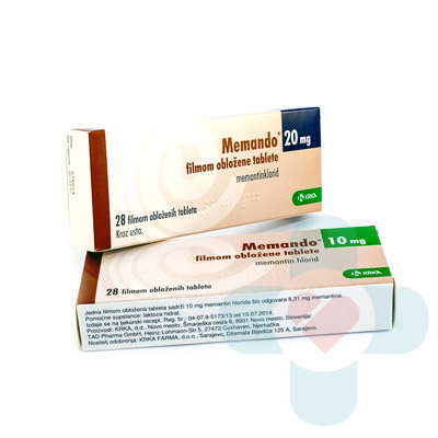 This medicine contains the active ingredient memantine which belongs to a group of medicines called anti-dementia medicines (NMDA-receptor antagonists). T