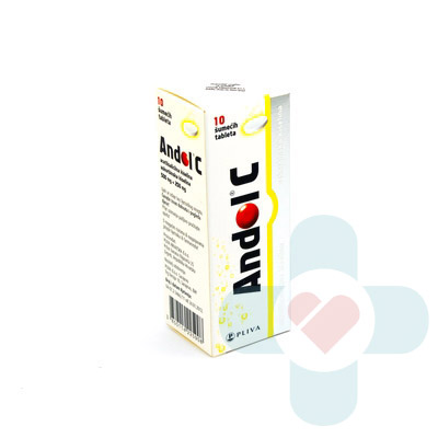 This medicine contains the active ingredients acetylsalicylic acid and ascorbic acid (vitamin C), and it is an analgesic (pain-relief) and an antipyretic