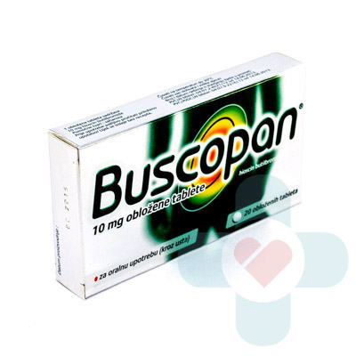 This medicine contains the active ingredient butylscopolamine which belongs to a group of medicines called antispasmodics. These medicines calm the muscle
